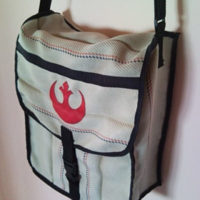 Unisex Star Wars Rebel Alliance fire hose shoulder bag