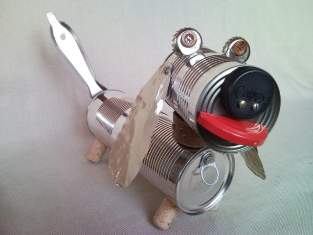 how to make your own robot with junk parts