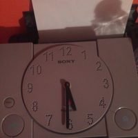 Customer's phpto about the PlayStation1 video game wall clock