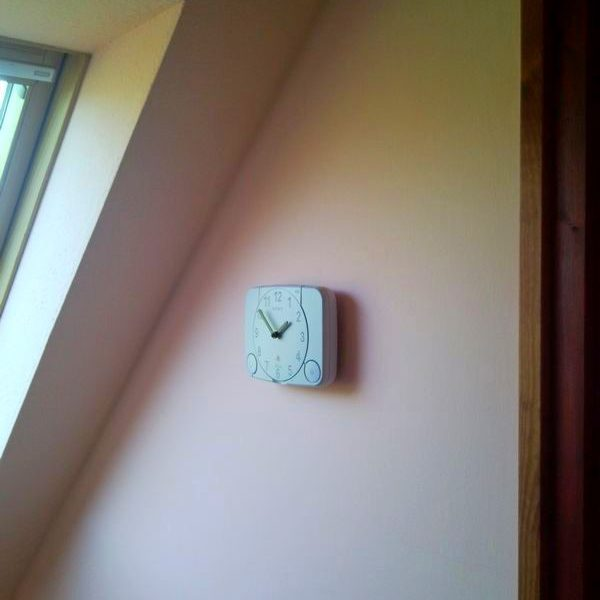 Recycled Sony PlayStation PS1 retro video game console wall clock 4.