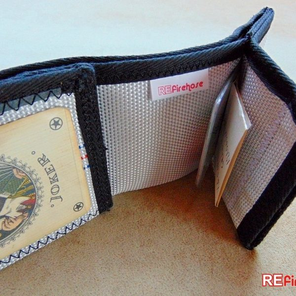 Vegan wallet from nonviolent leather free material made without violence