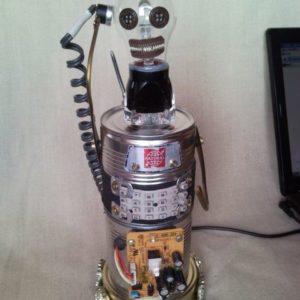 Green Beret soldier robot, USB laptop mood LED lamp