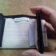 Recycled fire hose wallet for men - secure, versatile, handy - 13