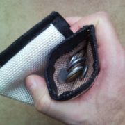 Recycled fire hose wallet for men - secure, versatile, handy - 16
